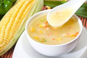 Sweet Corn Chicken Soup - Perfect Indo-Chinese Recipe!