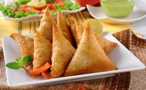 Mutton-mince Samosa - Iftaar Delicacy